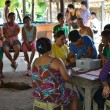 The COMSCA meeting at Sag - COMSCAs provide access to finance - groups of 15-25 people