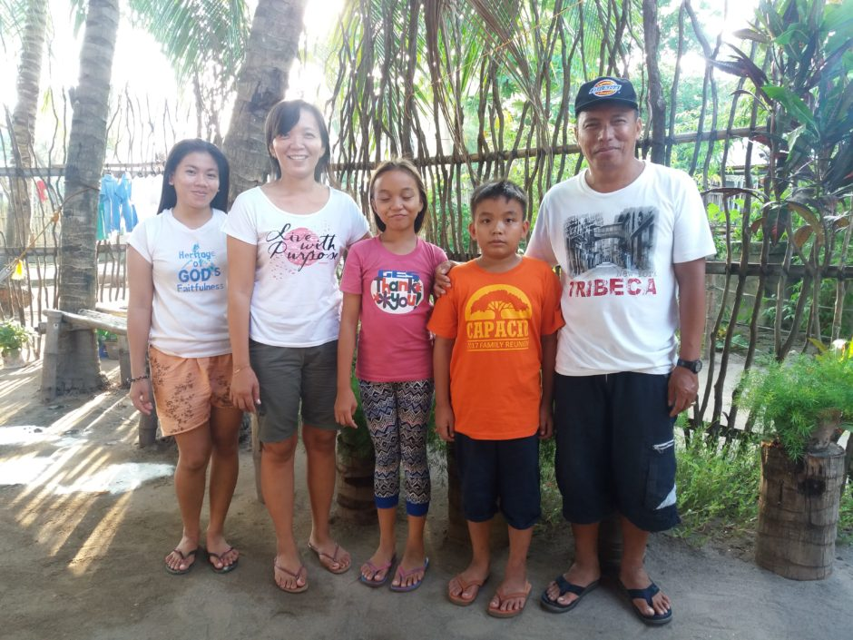 Edrich, Evangeline and family